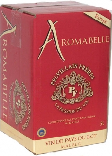 Aromabelle Malbec Vin de Pays du Lot - Bag in Box 5L