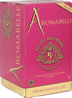 Aromabelle Rosé 2014 Vin de Pays du Lot - Bag in Box 5L